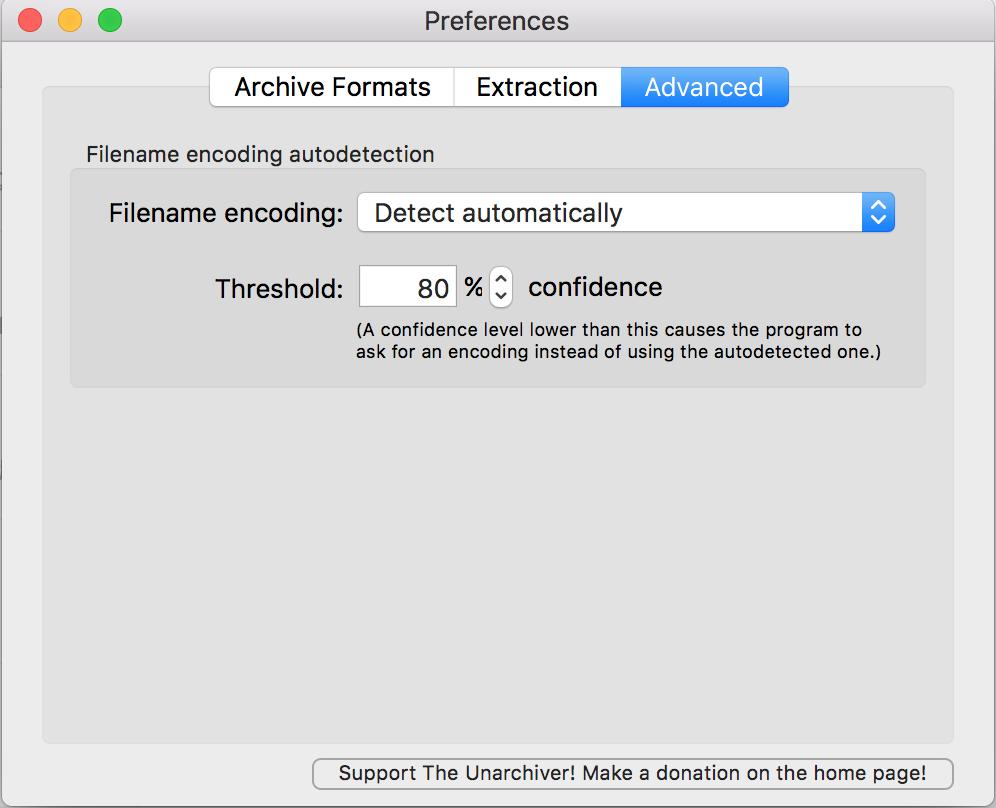 如何解决mac OSX解压缩乱码的问题– AliTrack